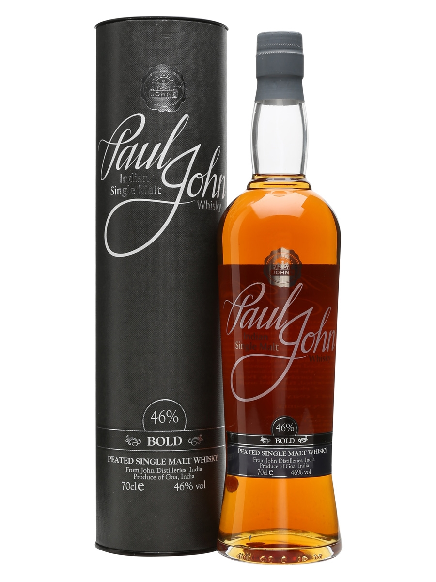 Paul John Bold Single Malt Indian Whisky (700ml)