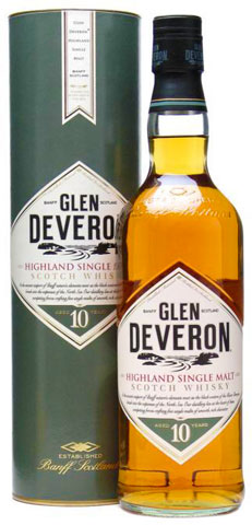 Glen Deveron, 10 yr old, Single Malt Scotch Whisky