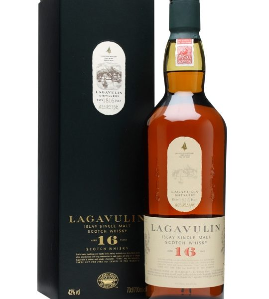 Lagavulin 16 Year Old Single Malt Scotch Whisky 700ml 43 % abv