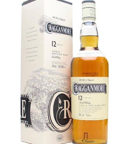 Cragganmore 12 Year Old Single Malt Scotch Whisky 700ml 40 % abv