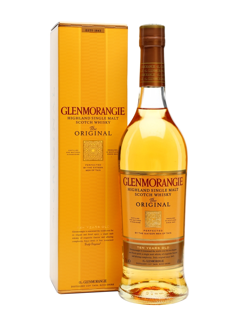 Glenmorangie The Original 10 Year Old Single Malt Scotch Whisky (700ml)