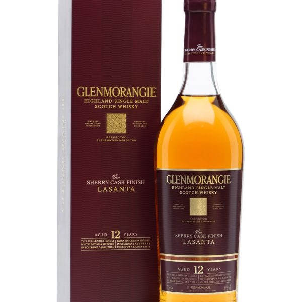 Glenmorangie The Lasanta 12 Year Old Single Malt Scotch Whisky (700ml)