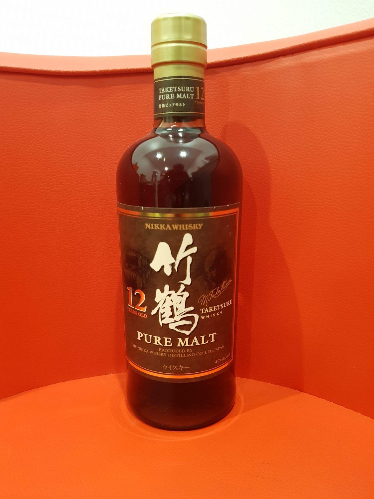 Nikka Taketsuru Pure Malt Japanese Whisky 12 YO 700ml 40 % abv