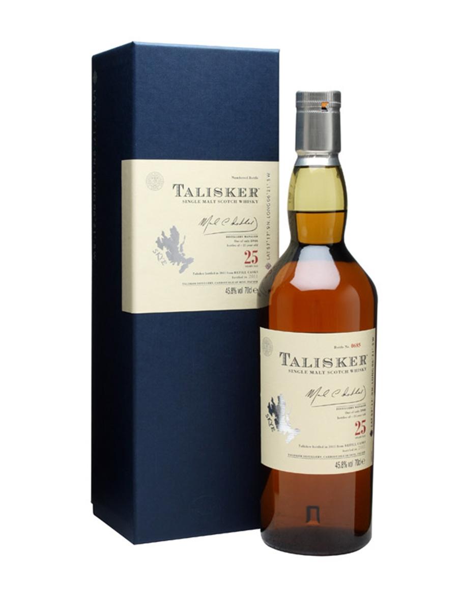 Talisker 25 Year Old Single Malt Scotch Whisky (700ml)