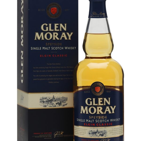 Glen Moray Classic Scotch Whisky (700mL)