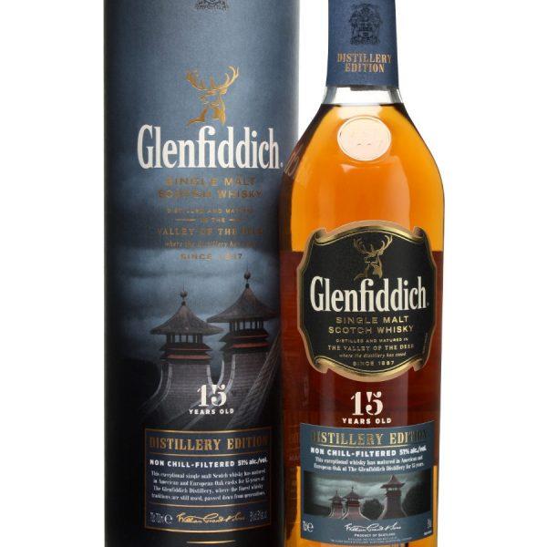 Glenfiddich 15 Distillery Edition Scotch Whisky (1000mL)