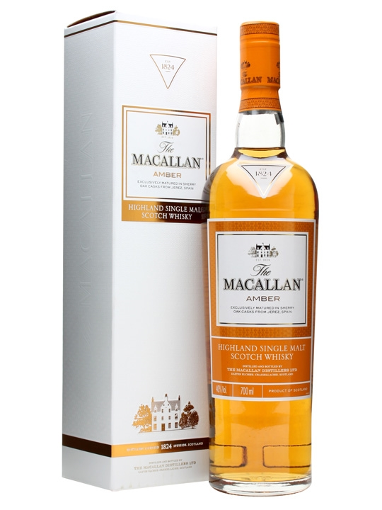The Macallan Amber Single Malt Scotch Whisky (700ml)