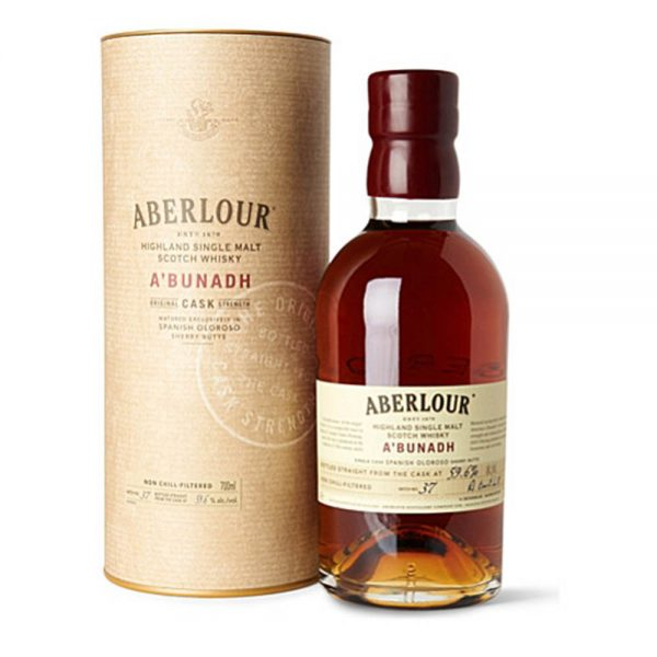 Aberlour a'bunadh Scotch Whisky (700mL )