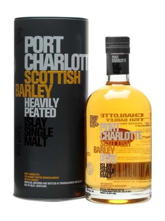 Bruichladdich Port Charlotte Scottish Barley Single Malt Scotch Whisky (700ml)