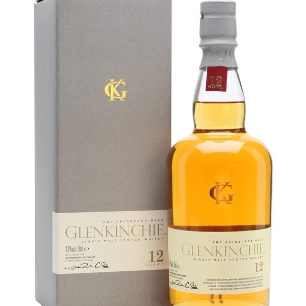 Glenkinchie 12 Year Old Single Malt Scotch Whisky (700ml)