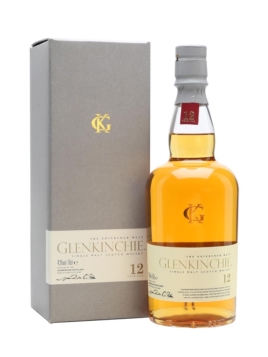 Glenkinchie 12 Year Old Single Malt Scotch Whisky (700ml)
