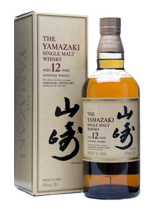 Suntory Yamazaki 12 Year Old Single Malt Japanese Whisky 700ml 43 % abv