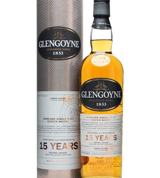 Glengoyne 15 Year Old Single Malt Scotch Whisky (700ml)