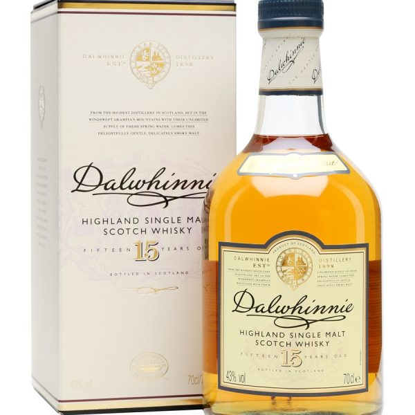 Dalwhinnie 15 Year Old Single Malt Scotch Whisky (700ml)