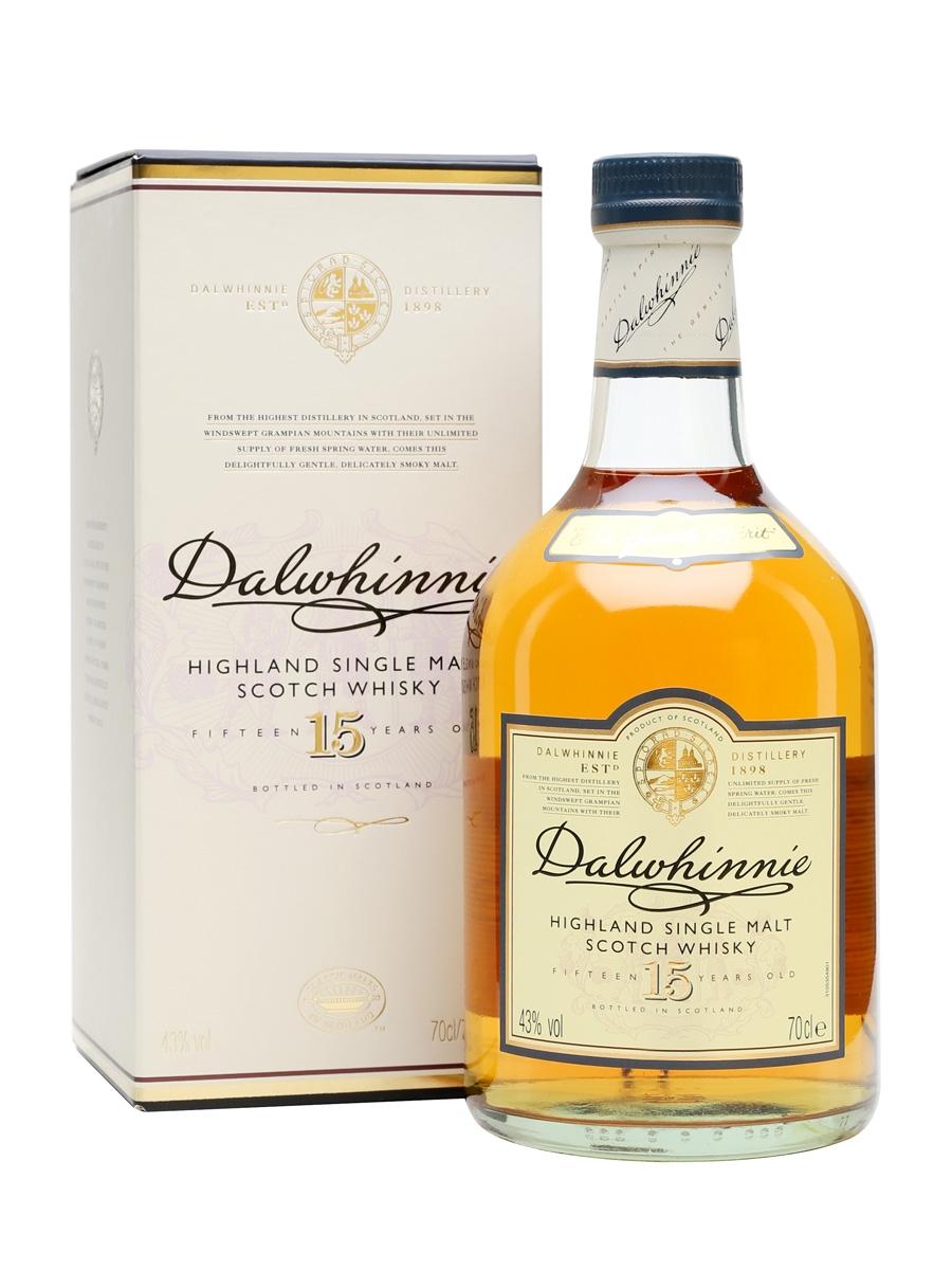 Dalwhinnie 15 Year Old Single Malt Scotch Whisky (700ml)