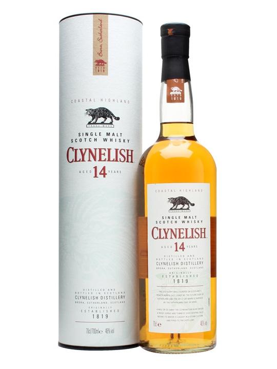 Clynelish 14 Year Old Single Malt Scotch Whisky (700ml)