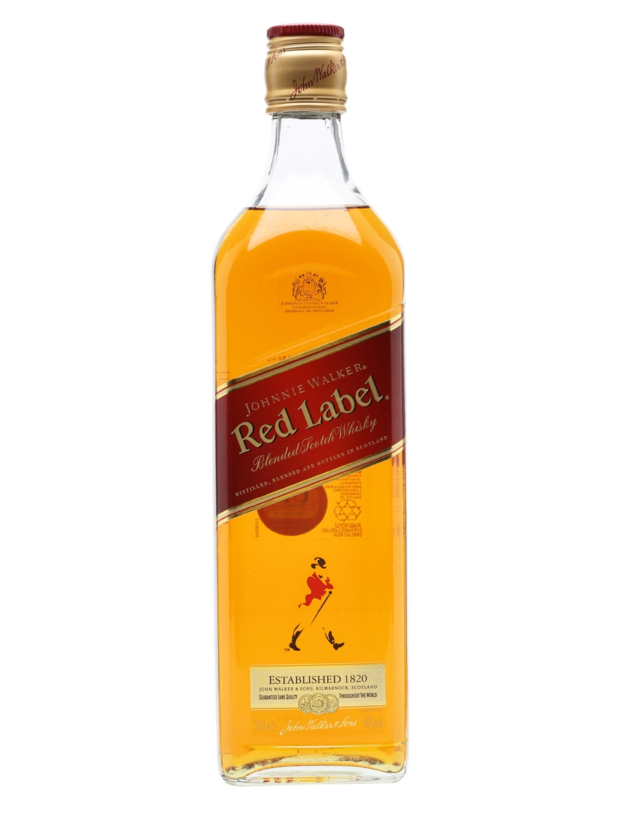 Johnnie Walker Red Label Scotch Whisky (700ml)