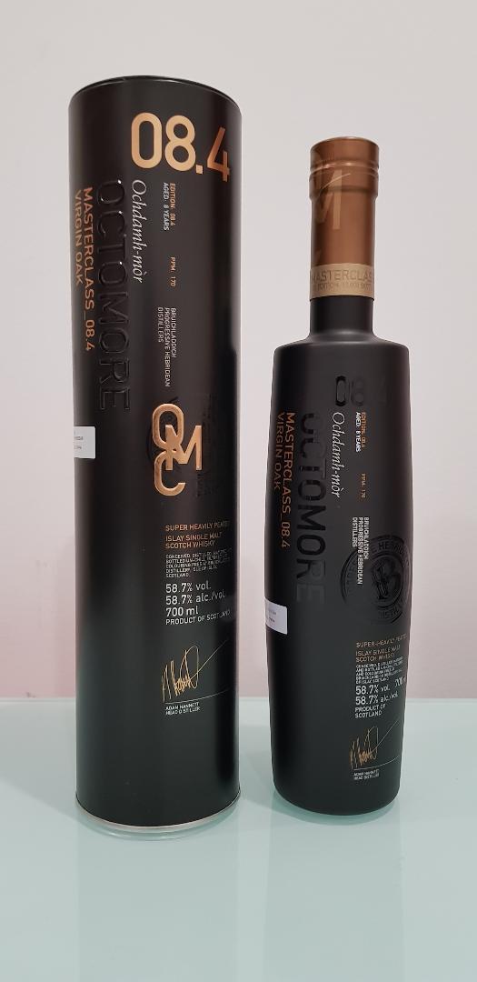 Bruichladdich Masterclass Octomore 8.4 Scotch Whisky 700ml @ 58.7% abv