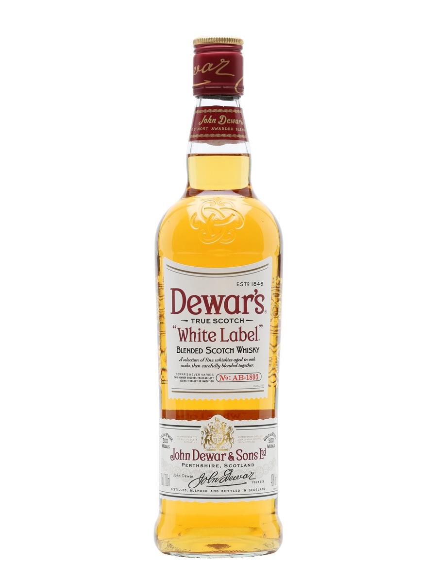 Dewar's White Label Blended Scotch Whisky (1000ml)