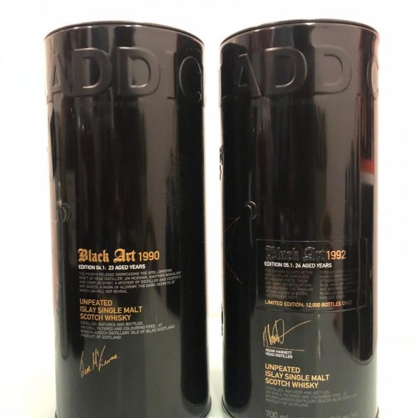 Bruichladdich Black Art 5.1 & 4.1 Package Deal