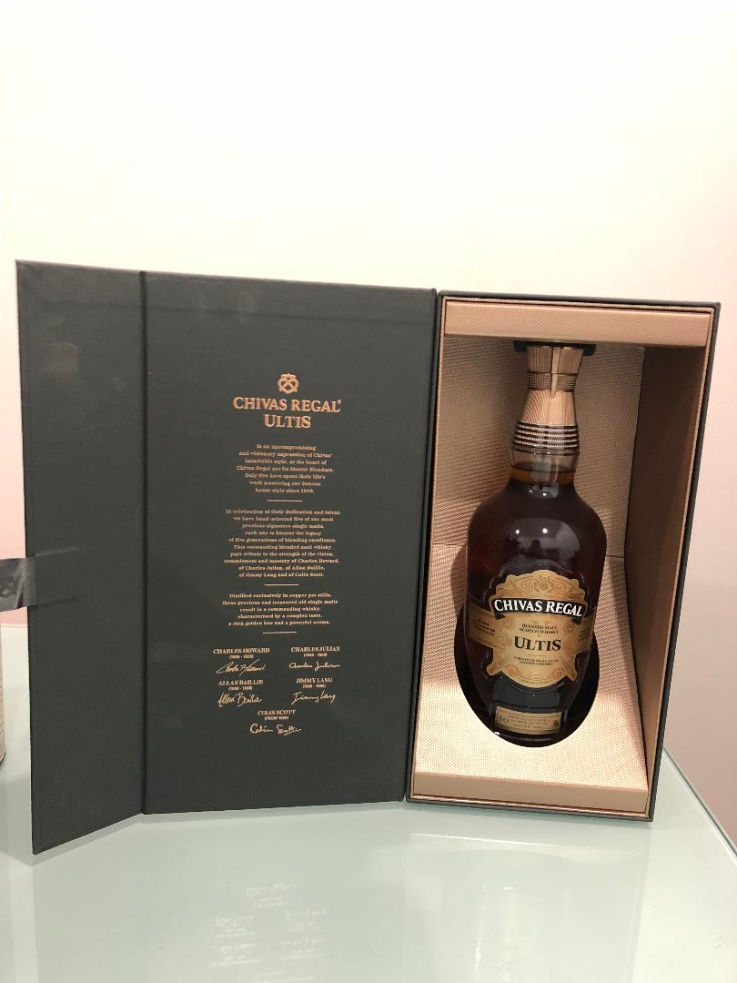 Chivas Regal Ultis Scotch Whisky 700mL @ 40% abv