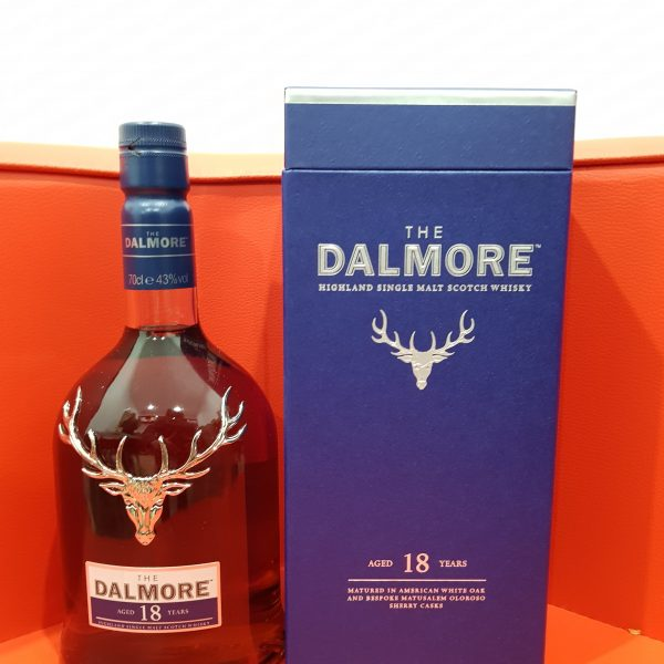 Dalmore 18 Year Old Single Malt Scotch Whisky 700ml 43 % abv