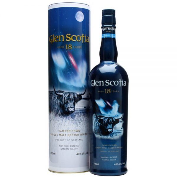 Glen Scotia 18 Single Malt Scotch Whisky (700ml)