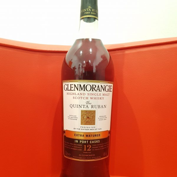 Glenmorangie The Quinta Ruban 12 Year Old Single Malt Scotch Whisky 1000ml 46 % abv