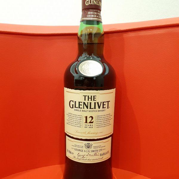 Glenlivet 12 Year Old Single Malt Scotch Whisky 700ml 40 % abv