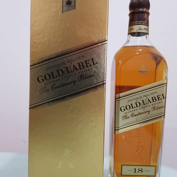 Johnnie Walker Gold Label The Centenary Blend 18 YO Whisky 750mL 40 % abv