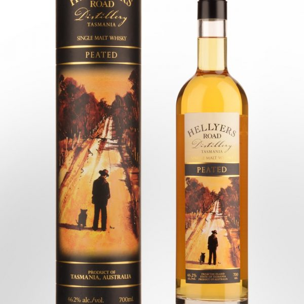Hellyers Road Distillery Peated Single Malt Australian Whisky (700ml)