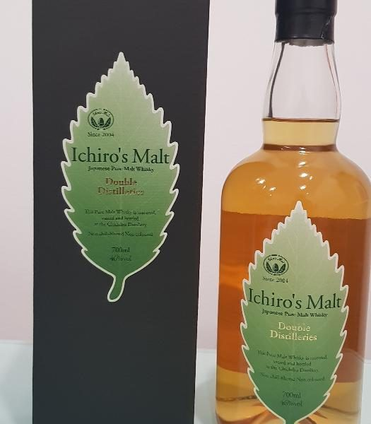 Ichiro's, Chichibu, 'Double Distillers' Japanese Pure Malt Whisky 700ml @ 46 % abv