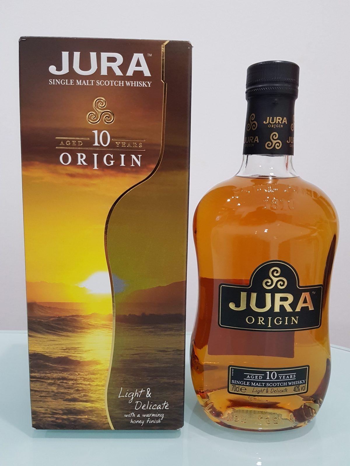 Isle of Jura Origin 10 Year Old Single Malt Scotch Whisky 700ml 40 % abv