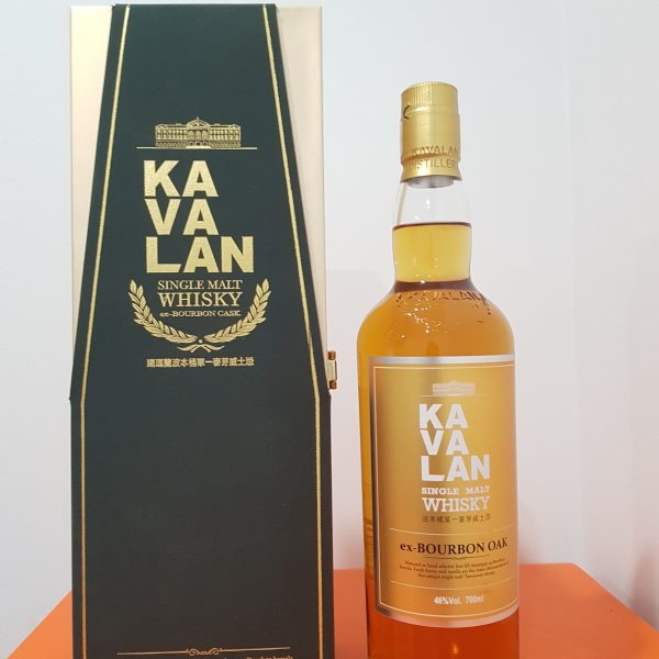 Kavalan Ex Bourbon Oak Single Malt Taiwanese Whisky 700ml @ 46 % abv