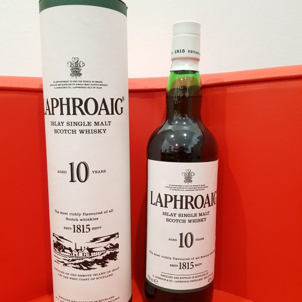 Laphroaig 10 Year Old Single Malt Scotch Whisky 700ml 40 % abv