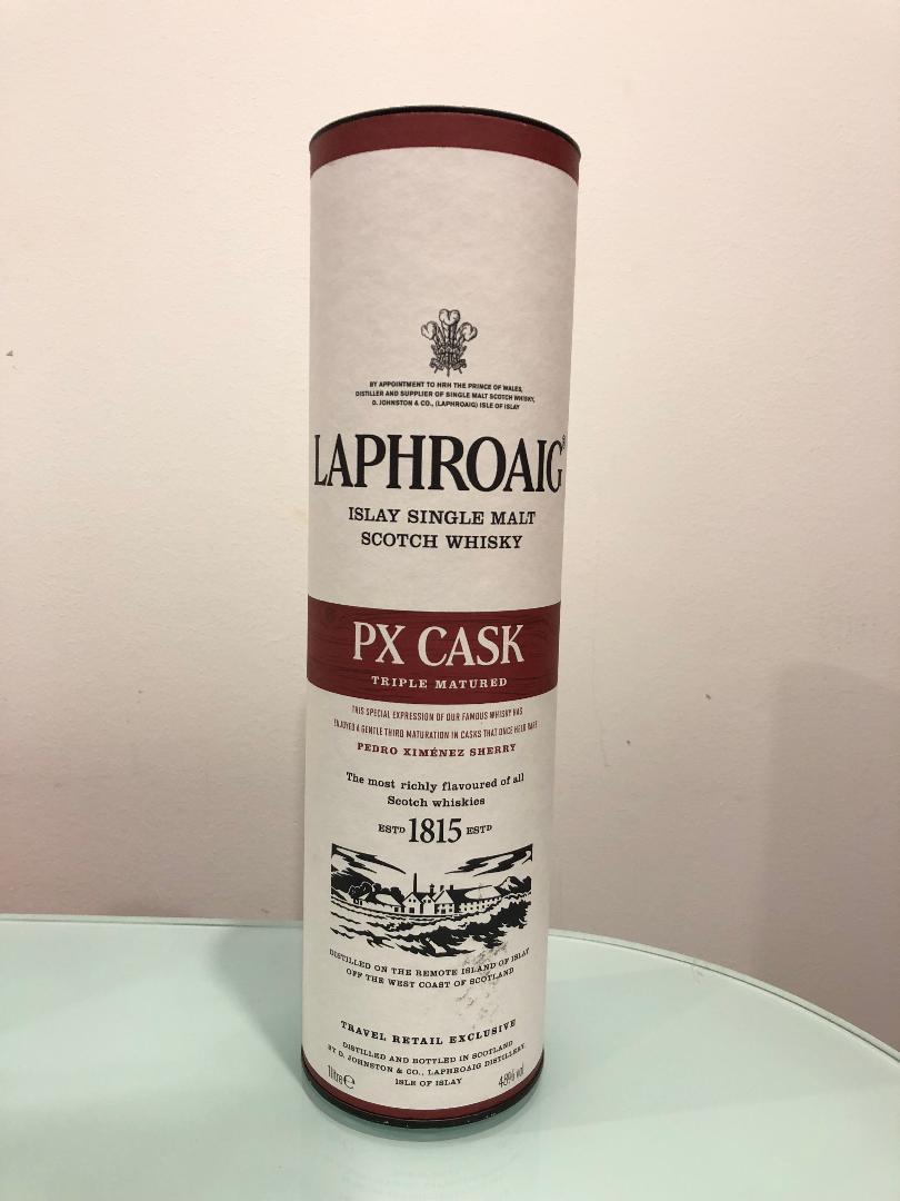 Laphroaig PX Cask Scotch Whisky 1L@ 48% abv