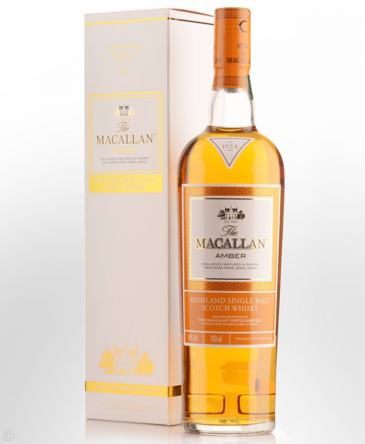 The Macallan Amber Single Malt Scotch Whisky 700ml 40 % abv