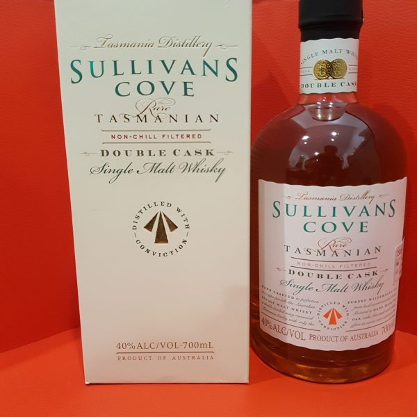 Sullivans Cove Double Cask Single Malt Whisky 700ml 40 % abv