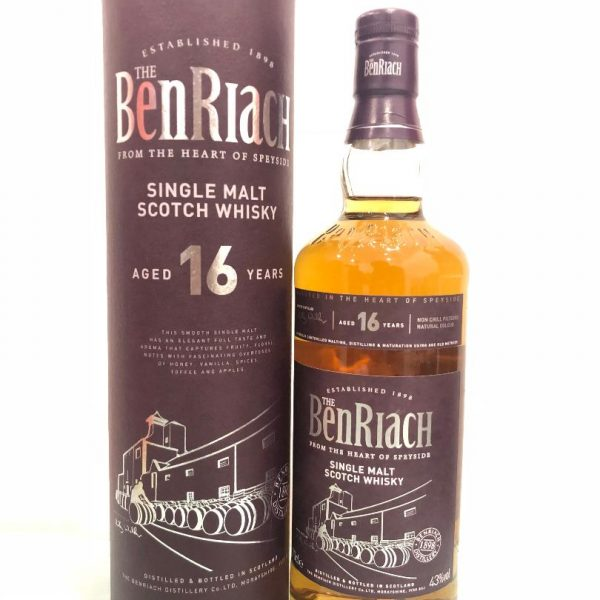 The Benriach 16 Years Old 700mL @ 43 % abv
