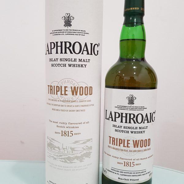 Laphroaig Triple Wood Single Malt Scotch Whisky 700ml @ 48 % abv