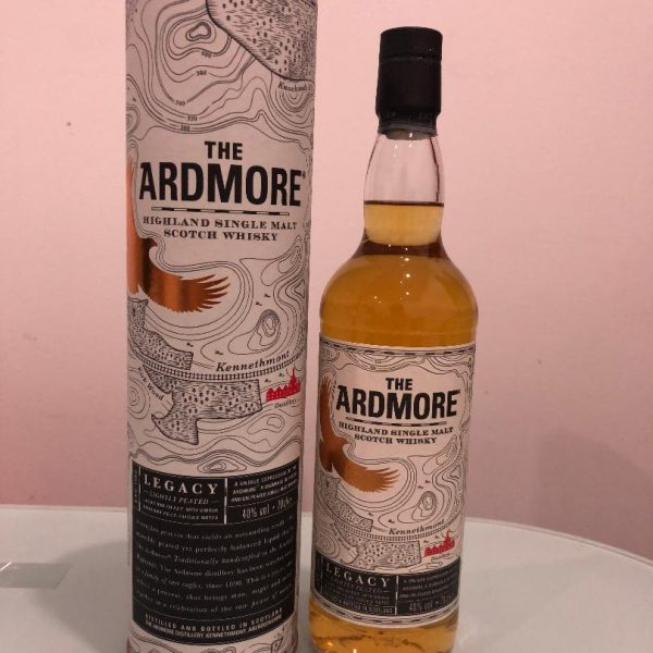 The Ardmore Legacy Single Malt Scotch Whisky 700mL @ 40 % abv