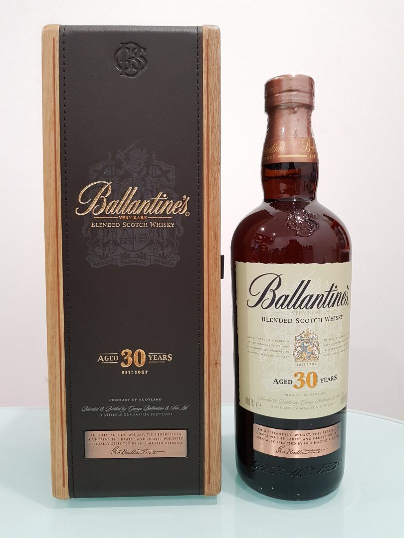 Ballantines 30 Year Old Blended Scotch Whisky 700ml @ 40 % abv