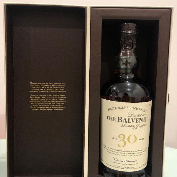 "The Balvenie ""Thirty"" 30 Year Old Scotch Whisky 700mL @ 47.30 % abv"