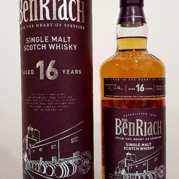 Benriach 16 Year Old Single Malt Scotch Whisky 700 mL 43 % abv