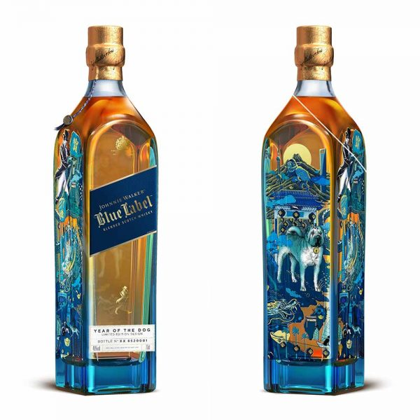Johnnie Walker Blue Label Zodiac Year of the Dog 750mL 40 % abv