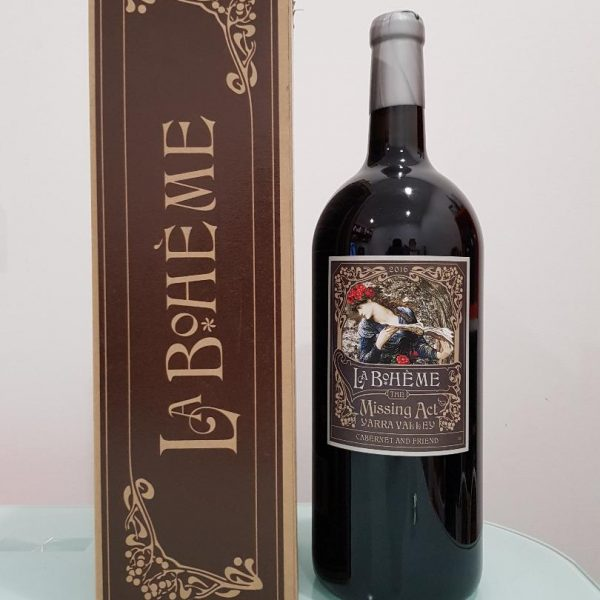 La Boheme Red Wine Magnum 3 Liter Gift Box