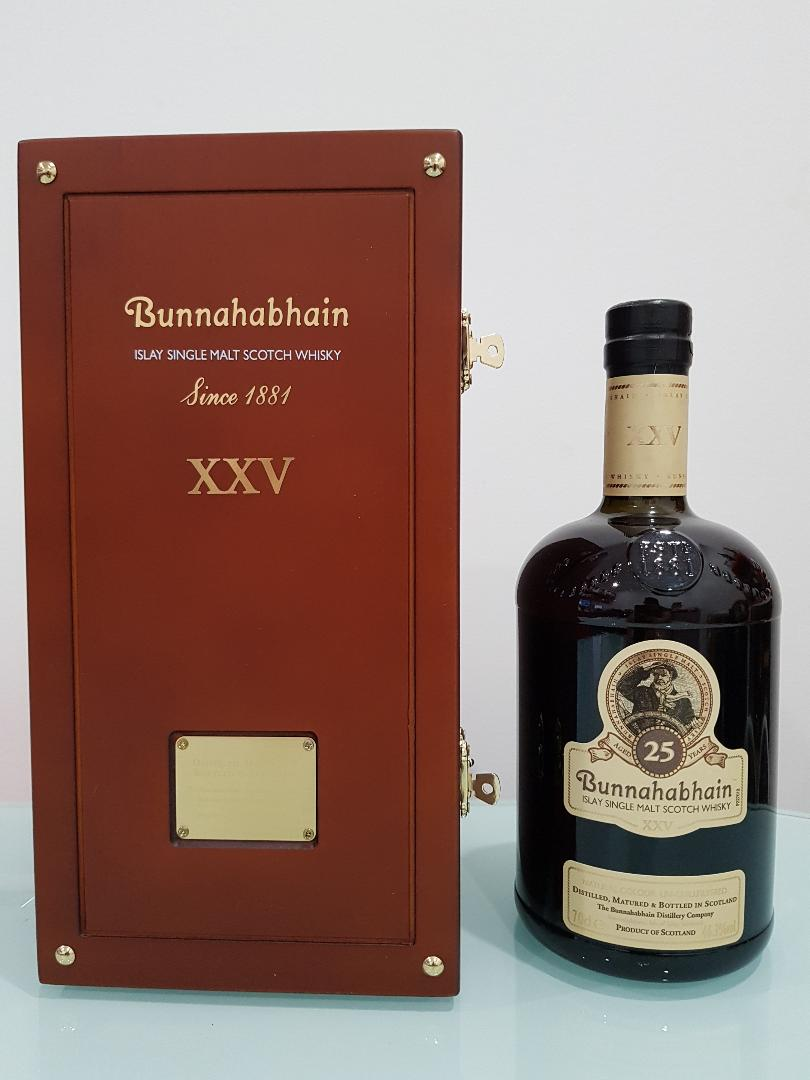 Bunnahabhain XXV 25 Year Old Islay Single Malt Scotch Whisky 700 ml