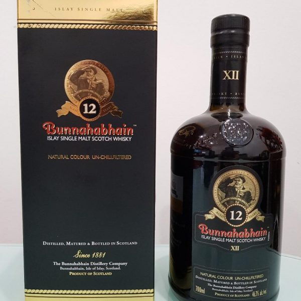 Bunnahabhain 12 Year Old Single Malt Scotch Whisky 700 ml