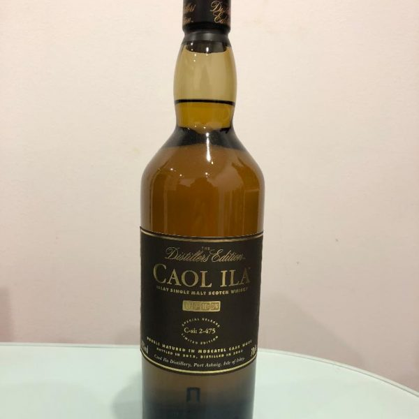 Caol Ila Distillers Edition Scotch Whisky C-Si 2-475 700mL@ 43% abv