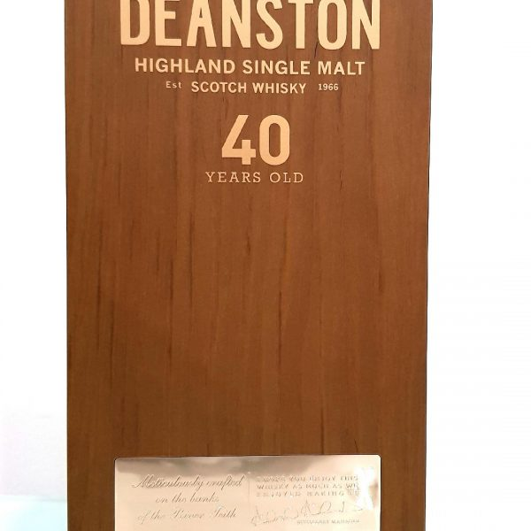 Deanston 40 Year Old Single Malt Scotch Whisky 700ml 46.5 % abv
